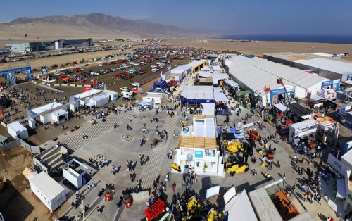 Mineras El Abra y Sierra Gorda SCM presentes en  Exponor y destacan oportunidades