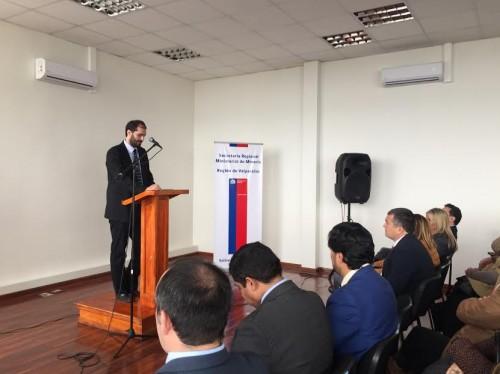 Subsecretario Schnake inaugura las nuevas dependencias de la Seremi de Minería de Valparaíso, en San Felipe