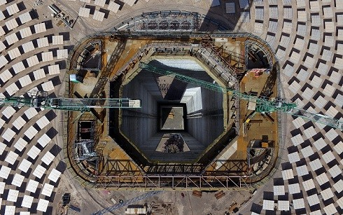 energia-planta-termosolar-cerro-renovable-dominador