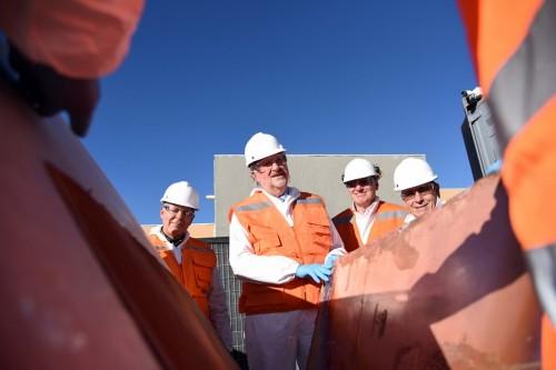 Chile preocupado por caída del cobre