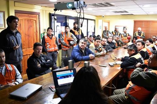 codelco-chuquicamata-seguridad-campana-autocuidado-lanzamiento