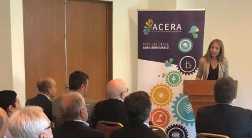 """Ministra de Energía y vicepresidente Ejecutivo de Corfo presentan al sector renovable el """"Instituto Chileno de Tecnologías Limpias"""""""