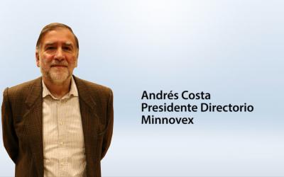 Entrevista Andrés Costa, presidente de Minnovex