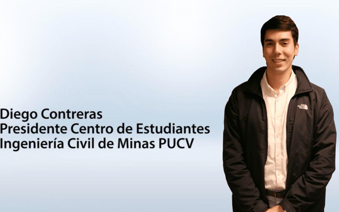 Entrevista Diego Contreras – presidente Centro de Estudiantes Ingeniería Civil de Minas PUCV