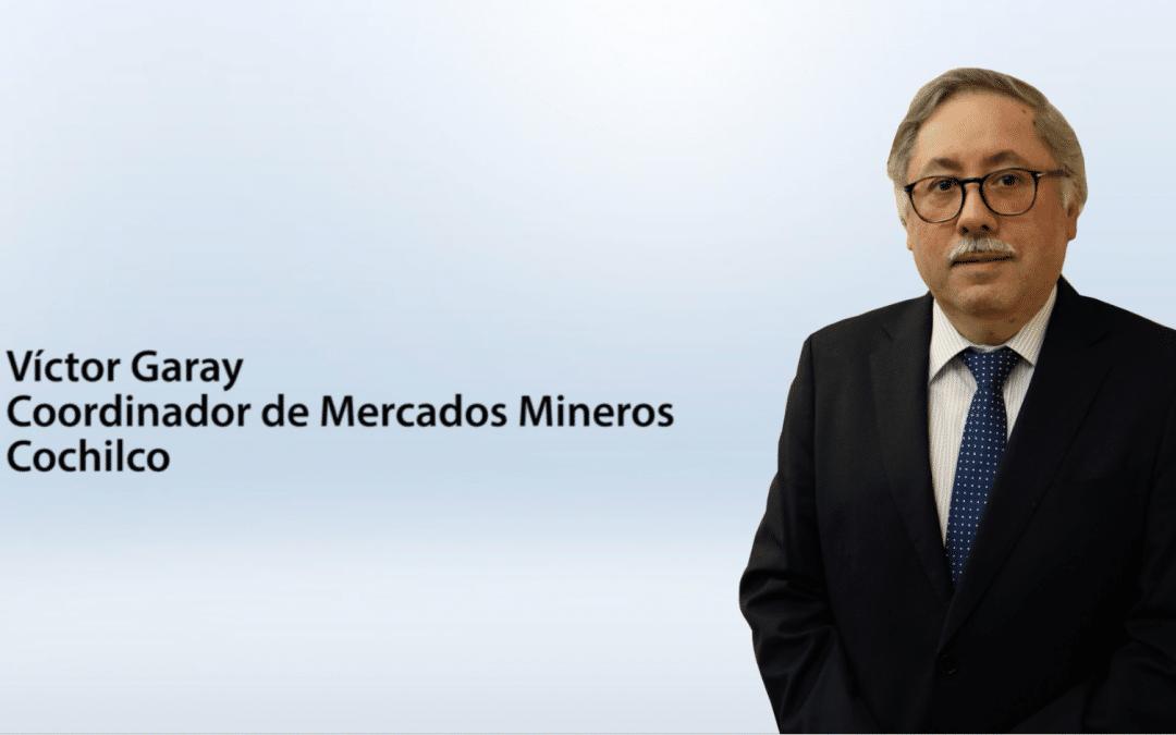 Entrevista a Víctor Garay – Coordinador de Mercados Mineros de Cochilco