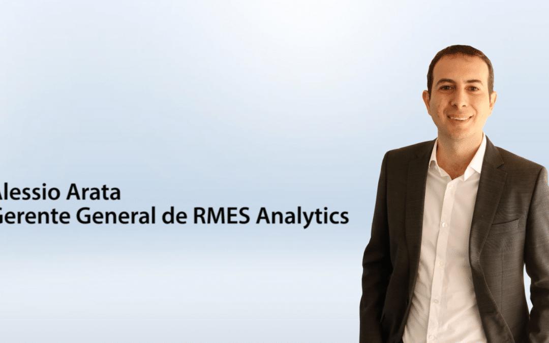 Entrevista Alessio Arata – gerente general de RMES Analytics