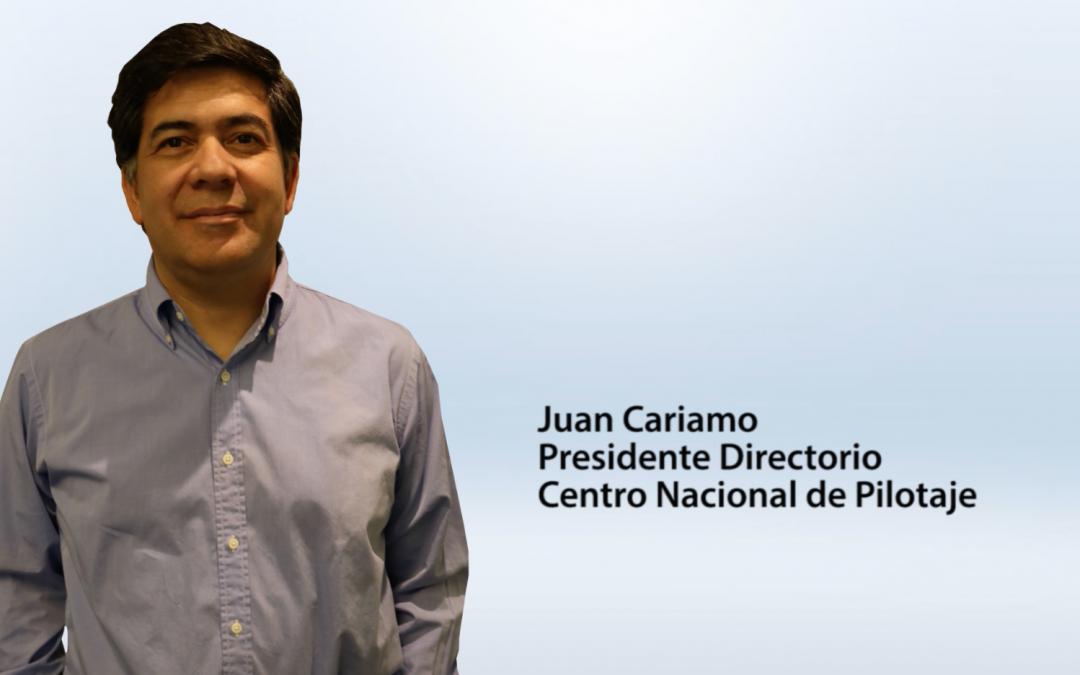 Entrevista Juan Cariamo – Presidente Directorio Centro Nacional de Pilotaje
