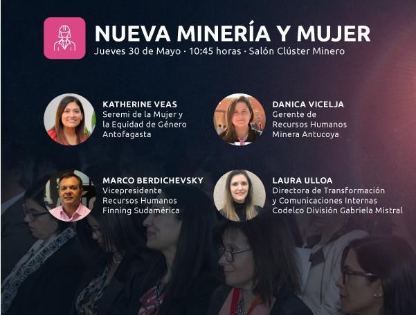 Seminario Nueva Minería y Mujer