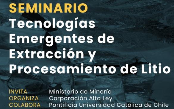 Tecnologías Emergentes de Extracción y Procesamiento de Litio