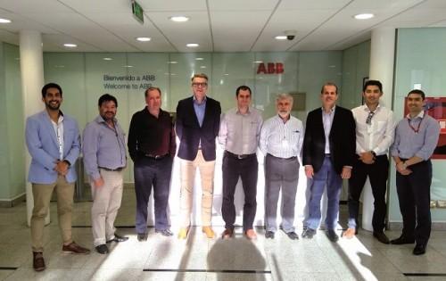 Nuevas tendencias en electromovilidad para minería presentó ABB en Chile