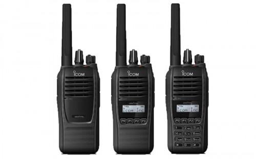 TECTEL presenta línea de radios sumergibles: Serie F1100D de ICOM