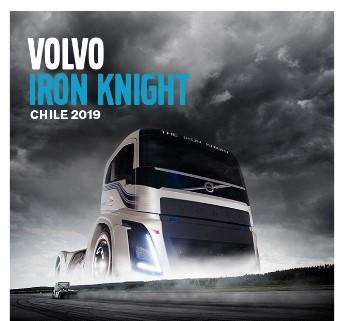 Volvo Trucks presentó Iron Knight, el camión más rápido del mundo, por primera vez en Chile