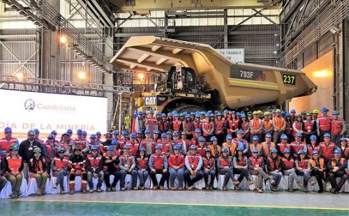 Minera Candelaria conmemoró el Día de la Minería junto a sus trabajadores