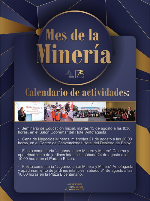 Con Primera Infancia como protagonista AIA lanza oficialmente el Mes de la Minería