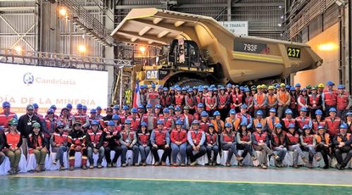 Minera Candelaria conmemora el Día de la Minería junto a sus trabajadores