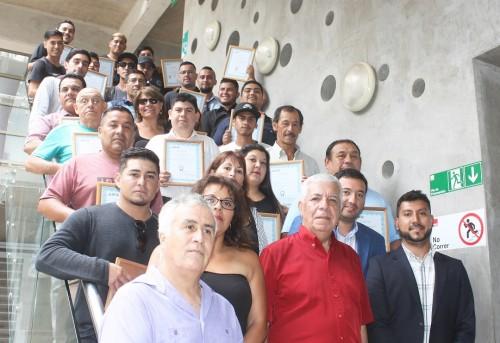 Nuevos soldadores y guardias de seguridad fueron capacitados en Tocopilla gracias a Minera El Abra