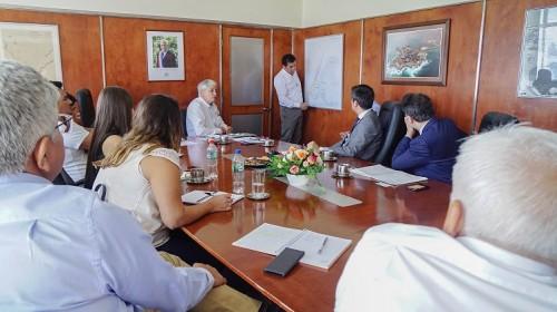 Puerto de Iquique recibe a delegación de la Contraloría General de la República