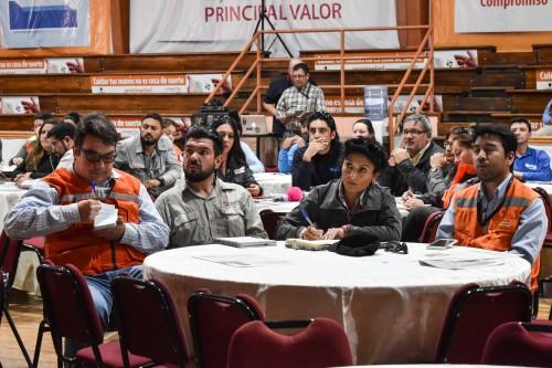 Chuquicamata llamó a potenciar la seguridad como base de la Transformación