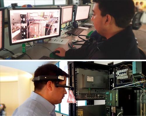 Realidad Aumentada Innovadora solución para mantenimiento de molinos SAG