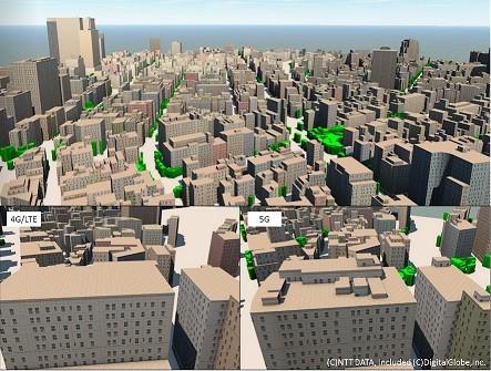 NTT DATA y everis lanzan un paquete de mapas digitales 3D avanzados para facilitar el desarrollo de la red 5G