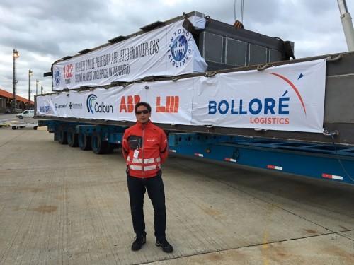 Jorge Ramírez gerente de Proyectos Industriales de Bolloré Logistics Chile El principal desafío por ahora es incrementar nuestra presencia local