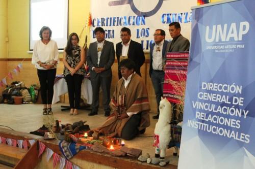 """Con una emotiva certificación se clausuró el curso Lengua y Cultura Ckunza"""" en Calama"""
