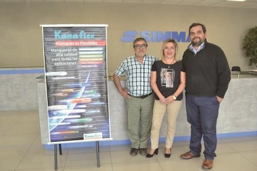 Simma introduce mangueras Kanaflex en el mercado chileno