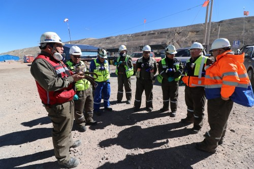 Presidente & CEO de Kinross Gold Corporation visitó Chile