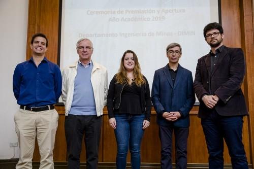 Ceremonia de apertura de año académico y premiación Ingeniería de Minas U. de Chile 2019