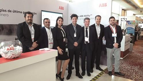Jorge Abraham de ABB en Chile ABB AbilityTM ofrece soluciones para toda la cadena de valor en minería
