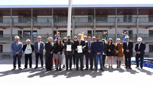 Con la presencia de empresas y autoridades AIA inauguró Cuarta Etapa de construcción de Liceo Don Bosco de Calama