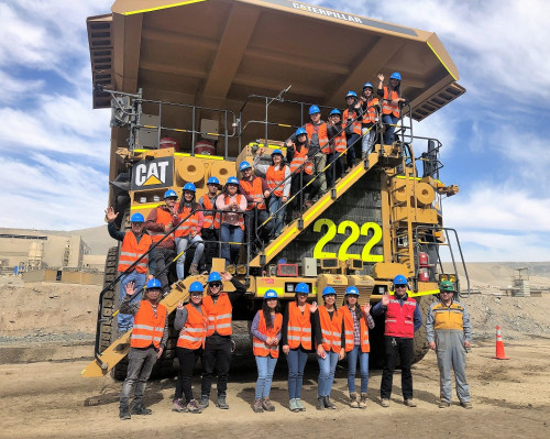 Minera Candelaria inicia programa de visitas técnicas y vocacionales 2019