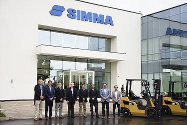Finning firma un acuerdo comercial con Grupo Simma