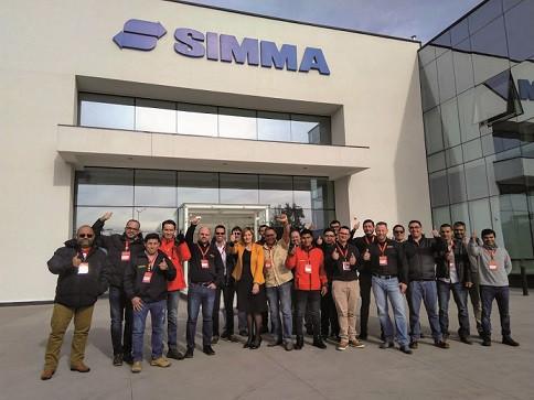 Palfinger introduce nueva tecnología en grúas desde Chile vía Simma a Sudamérica