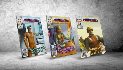 Consejo Minero lanza cómic que narra las aventuras de su exitosa liga de superhéroes