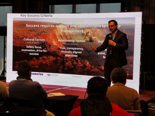 Komatsu Chile dio a conocer últimas novedades en autonomía minera: destacan nuevas tecnologías, mayor seguridad e integración de soluciones