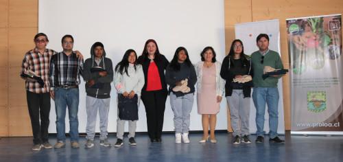 Alumnos del Liceo Likan Antai de San Pedro de Atacama se especializan en el ámbito agropecuario
