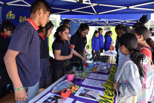 Codelco Distrito Norte impulsó feria ambiental en la Escuela Pedro Vergara Keller