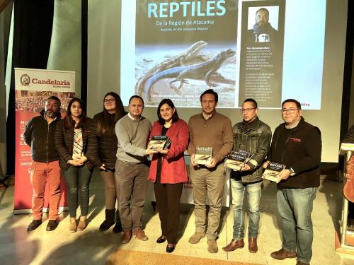 Lanzan libro de divulgación científica «Reptiles de la Región de Atacama»