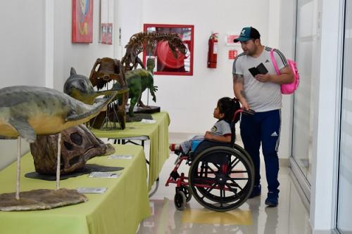 Niñas y niños del Instituto Teletón Calama disfrutaron del «Museo Visita Tu Escuela»