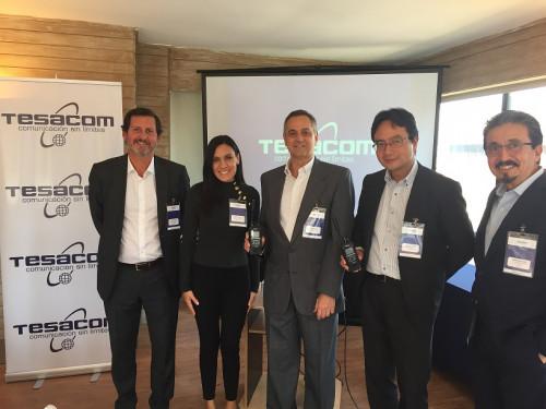 Tesacom presenta en Latinoamérica la primera radio del mundo que opera con el servicio satelital Iridium Certus