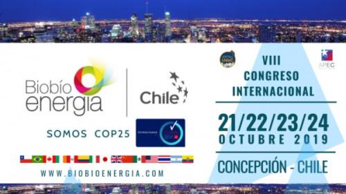 MEE formará parte de VIII Congreso Internacional Biobío Energía