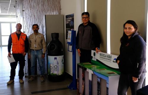 Ministro Hales inició campaña de campaña de reciclaje con foco en los cambios de conducta