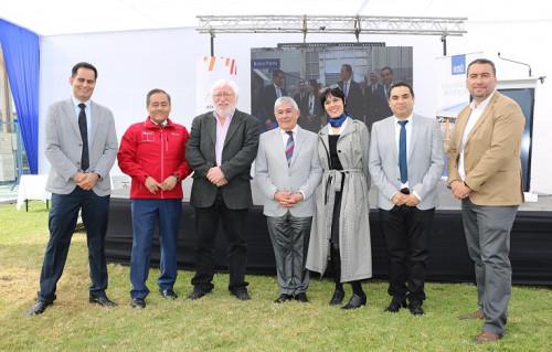 Komatsu Reman Center Chile firmó acuerdo para promover energía fotovoltaica en la región