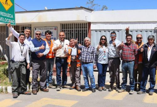 Programa de pasantía refuerza la seguridad entre áreas de Chuquicamata