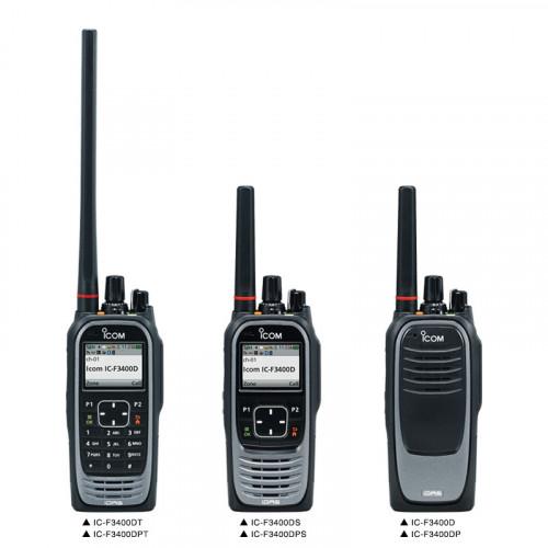 Tectel presenta Transceptores Digitales VHF y UHF Serie F3400D de ICOM