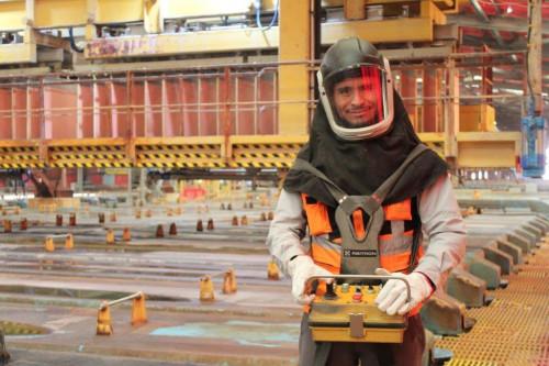 División Gabriela Mistral aplica nuevas medidas para mejorar ergonomía en su Nave de Electro Obtención