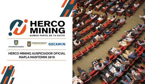 Herco Mining será el auspiciador oficial de MAPLA-MANTEMIN 2019