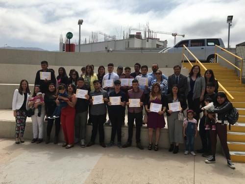 Finning y Fundación Tierra de Esperanza finalizan un nuevo Programa de Inclusión laboral en Antofagasta
