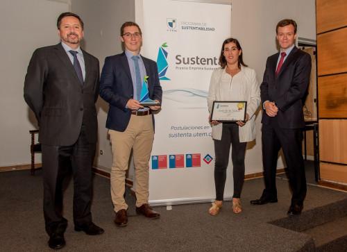 Cbb recibe Premio SUSTENTA UTEM